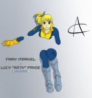 Fairy Marvel - Lucy 'Kitty' Pryde COLORE by TonyCocchi