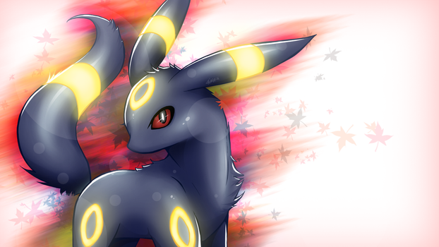 Umbreon by laurabutterbone