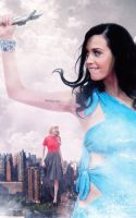 Katy Perry and Taylor Swift Giantess by Llama99