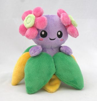 Shiny Bellossom plush by Draxorr