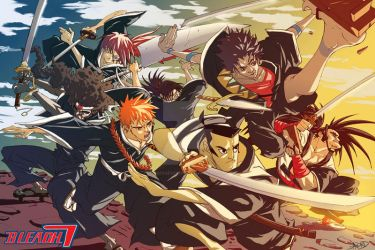 BLEACH 7 by greenestreet