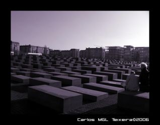 Holocaust Memorial I by Starkhyel