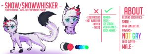 Snow/Snowwhisker Ref | April 2018 by SnowWhisker4