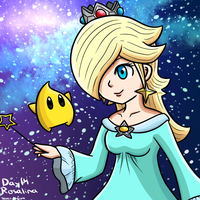 Smashvember Day 14: Rosalina by thegamingdrawer