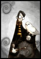 Harry and Hedwig by Bleeding-Arts