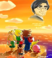 Iwata tribute by Jeffanime