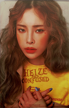 Heize and Confused | Book cover by tofurookies