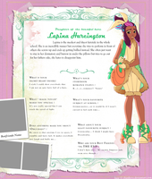 Lupina Hareington Ever After High OC by Sakuyamon