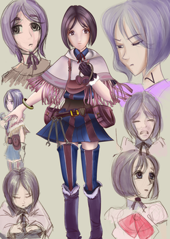 ISARA sketchconcepts and render by VonEyEzine