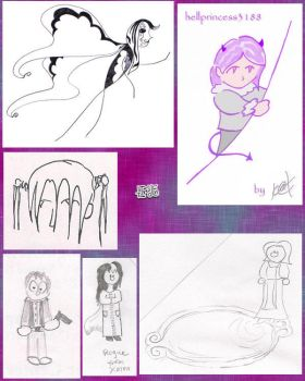 collage of old stuff 9: fanart by tirsden