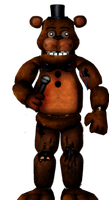 Wtithered Freddy (FNAF 1) by MutationFoxy