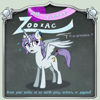 ZoA: My Little Zodiac Ross by AbnormallyNice