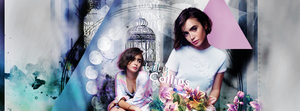 Lily Collins by blondehybrid