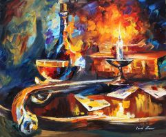 Recollection by Leonid Afremov by Leonidafremov