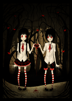 Twins by Naimane