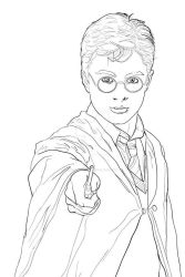Harry Potter drawing by pauloskinner