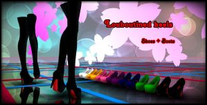 Louboutined heels (shoes + boots) DOWNLOAD by YamiSweet