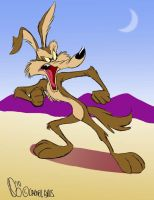 Wile E Coyote by SuperStinkWarrior