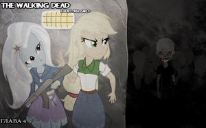 The walking dead euqestria girls by ngrycritic