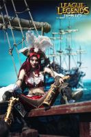 Fortune doesn't favor fools! Miss Fortune cosplay by magmasaya
