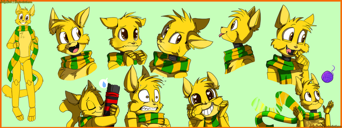 [C] Furball Expressions by JollyLink