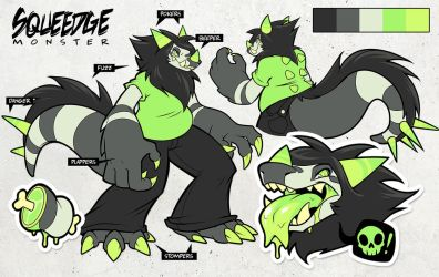 Squeedge Monster Ref by squeedgemonster