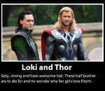 Loki and Thor by Londonexpofan