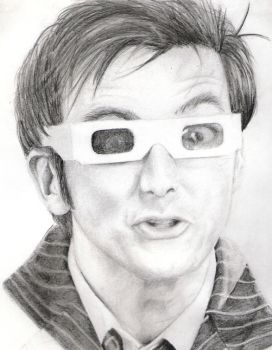David Tennant by anyspoon
