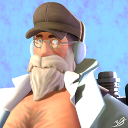 SFM: Sexy Grandpa [Commission] by 3DylanStar