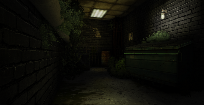 Old Industrial basement by uuproductions