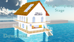 MMD Aria Company Stage - Download by cycypinkb
