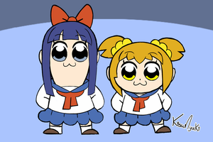 Pop Team Epic! by KisaMyuki
