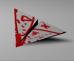 Paper Airplane of Love... by gnomekiller