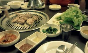 Samgyupsal dinner. by marianner06