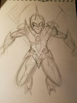 Rough Draft Sketch by AllysInventions