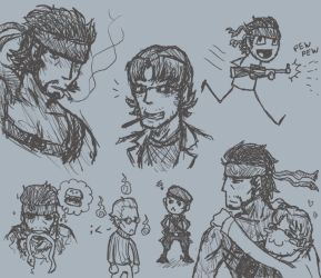 Cavalcade of MGS Silliness by mistress-samwise