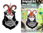 Don't Let Your Mind Wander Too Much HUGE Sticker by SulkyRusalka
