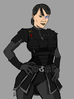 Legionnaire Captain Leah Staria by docwinter