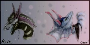 crys and rave by Skysealer by Anarchpeace