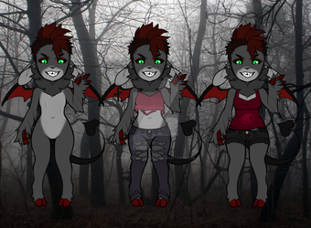 Demon Girl Auction CLOSED by Russet-Adopts