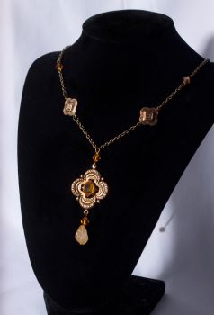 Golden Afternon Necklace by ibukij
