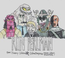 Ron Perlman Tribute by CelmationPrince