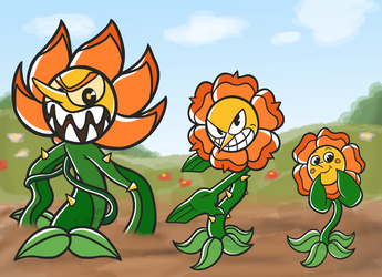 Cagney Carnation by InkCartoon