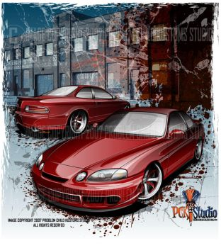 Lexus Streetfighter by flying-polock