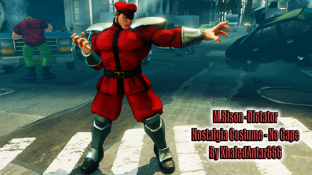 SR01: M.BISON (DICTATOR) - NO CAPE NOSTALGIA by Khaledantar666