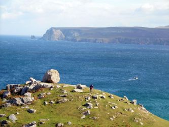 view east Whiten head creel boat photographer by merearthling