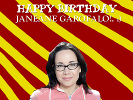 Happy Birthday Janeane Garofalo! by Nolan2001