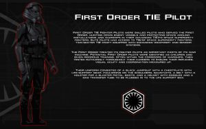 First Order TIE Pilot tech readout [New] by unusualsuspex