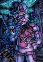 I bet it wasn't just a mouse / FNaF SL by Mizuki-T-A