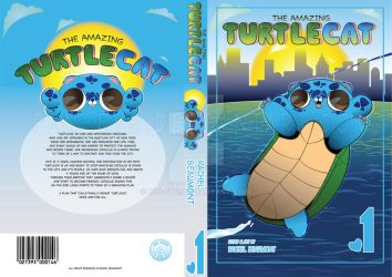 The Amazing Turtlecat - Covers and Spine by Pin-eye